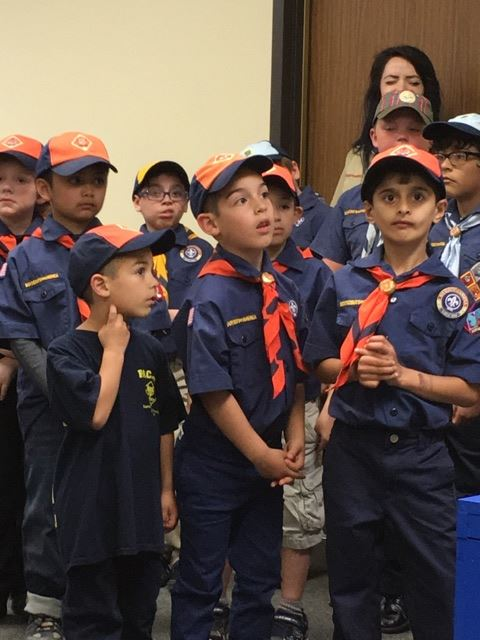 Boy Scouts learn about Clifton Cares