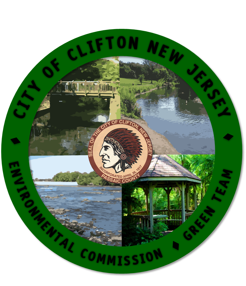 CLIFTON NJ ENVIRONMENTAL COMMISSION GREEN TEAM LOGO