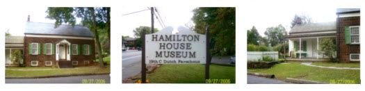 Exterior views of the Hamilton House Museum
